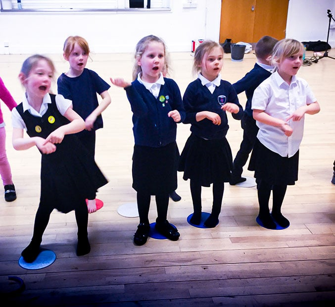 Surrey after School clubs dancing and singing main image
