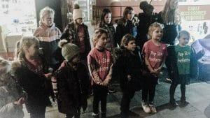 An example of Kids Performing in Molesey to gain confidence