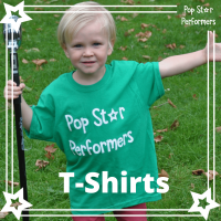 Personalised water bottle 2 200x200 - Pop Star Performers T-Shirt