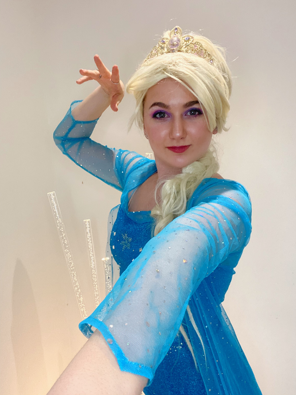 Zoom with Elsa